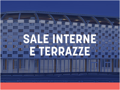 Sale interne e terrazze
